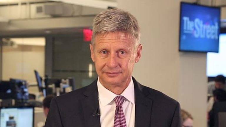 If Libertarian Gary Johnson Was President, Here's What Would Happen to the U.S. Economy