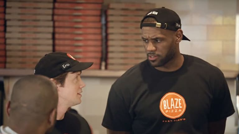 LeBron James-Backed Blaze Pizza Named Fastest Growing Restaurant Chain in U.S.