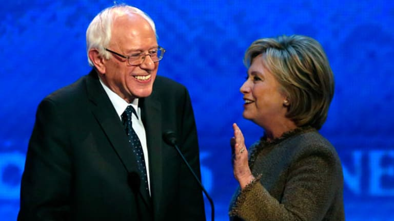 How Clinton and Sanders Disagree on Addressing 'Too Big to Fail'