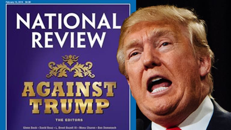 Here's Every Reason National Review Magazine Hates Donald Trump