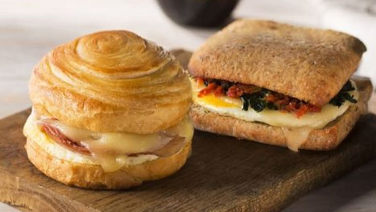 Why You Won't See Starbucks Breakfast Sandwiches In Grocery Stores Anytime Soon