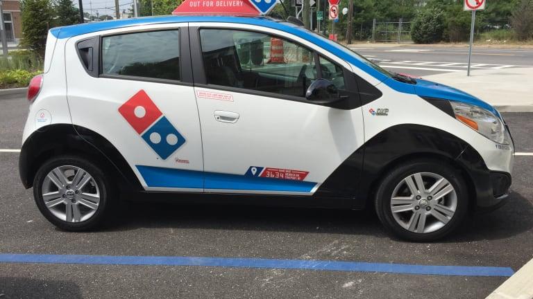 Test Drive Exclusive: Domino's Pizza Has New Futuristic Delivery Car