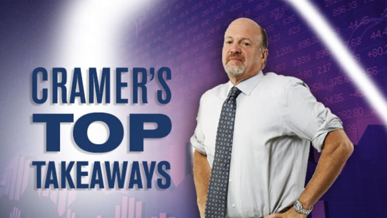 Jim Cramer's Top Takeaways: Amerisource Bergen, Avon And More