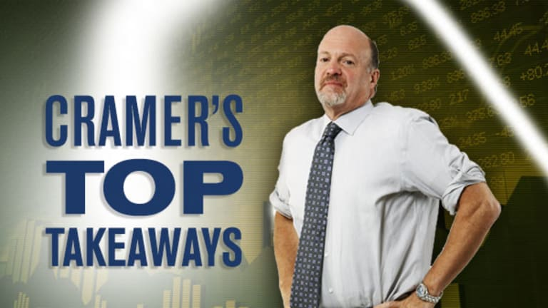 Jim Cramer's Top Takeaways: Apple, Sirius XM Radio