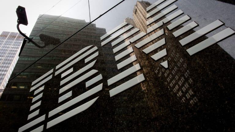 IBM Stock Lower, Approves Share Repurchase Program