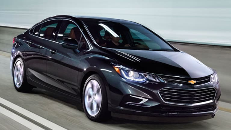 New Chevy Cruze Is Best Small Car Gm Has Built In A Long Time Thestreet