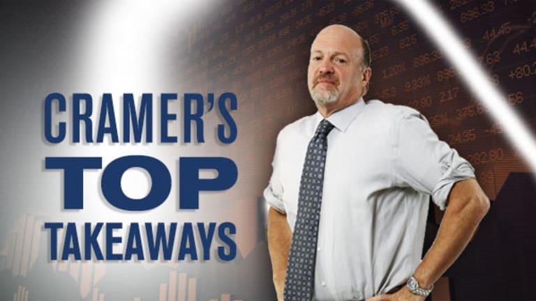 Jim Cramer's Top Takeaways: R.R .Donnelley, Salesforce.com