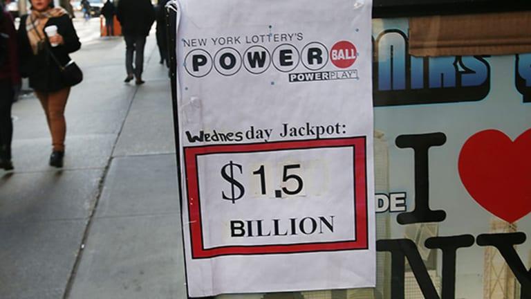 So You Want to Be a Billionaire? Buy Lottery Tickets, Maybe