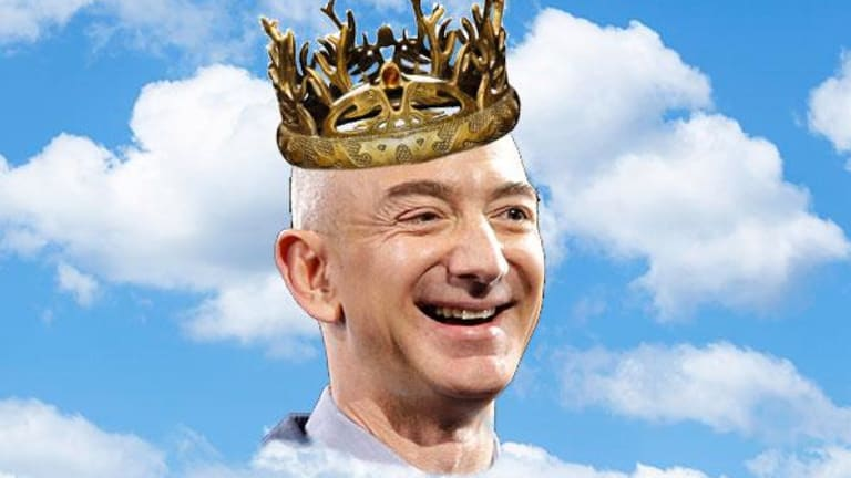 Amazon and Jeff Bezos Are the Ones to Beat in Game of Clouds