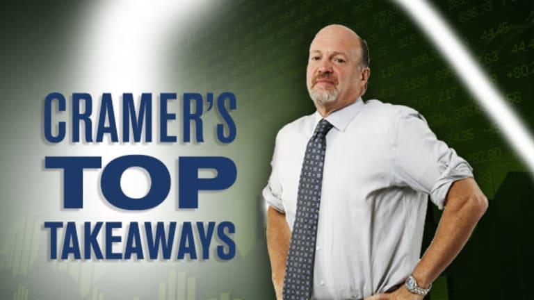 Jim Cramer's Top Takeaways: Nutanix, Nvidia, Take-Two Interactive