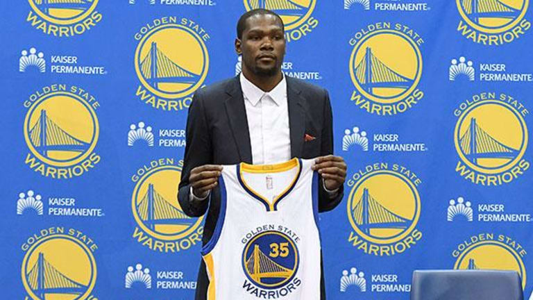 NBA's Kevin Durant: 'Nobody Wants to Play in Under Armours'