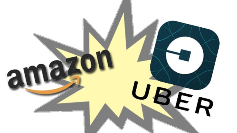 Uber Is On a Collision Course With...Amazon?