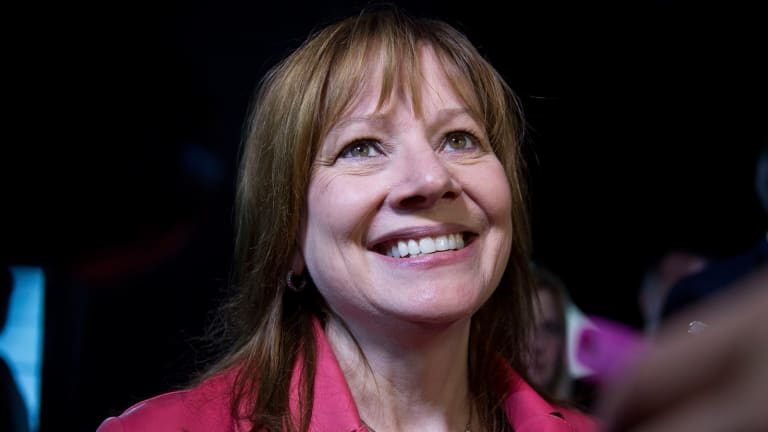 As Chairman, GM's Barra Must Make Lagging Stock Price a Priority
