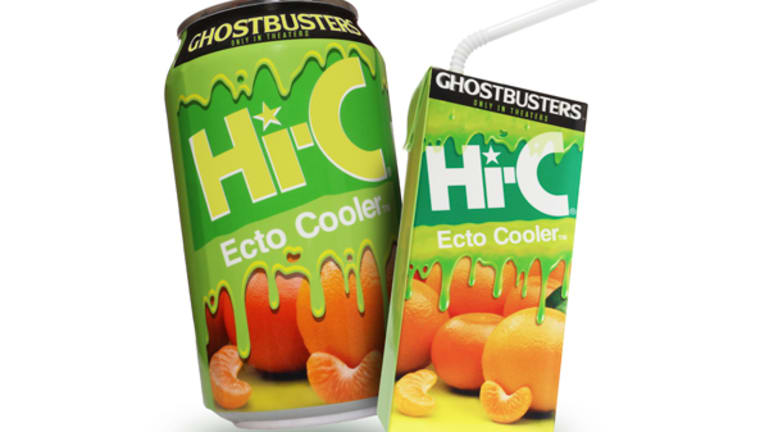 Coca-Cola's Hi-C Ecto Cooler Is Coming Back, With Some Changes