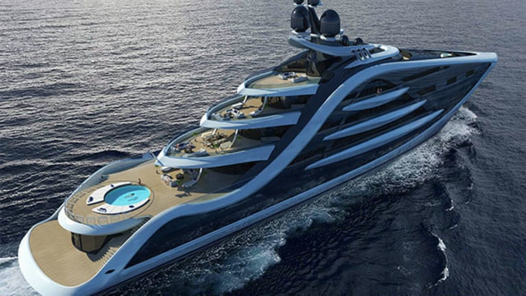 Here Comes Another Massive Yacht to Drool Over
