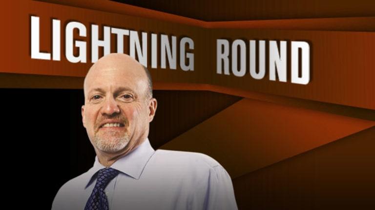 'Mad Money' Lightning Round: Stick With AMN Healthcare