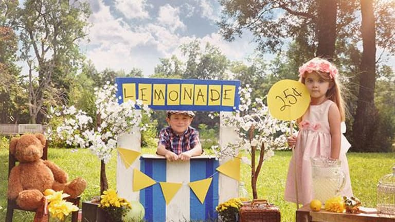 Why General Mills' Senior Executives Are Working at Lemonade Stands