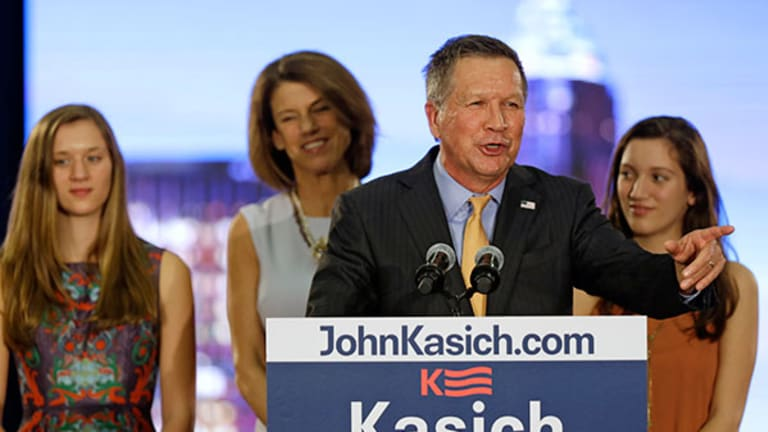 Kasich Says He Won't Drop Out of Presidential Race