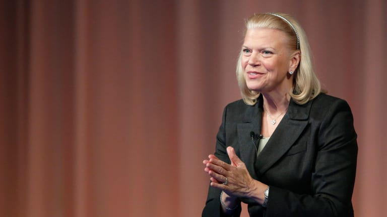 IBM Bucks the Tech Decline -- Strategy Before a Breakout
