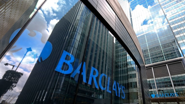 Barclays Profits Plunge in First Half on Disposals