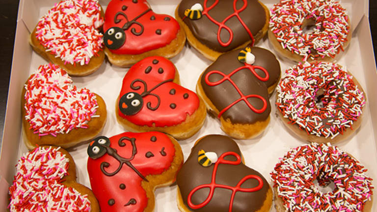 Krispy Kreme Sees Sweet Profit Beat, Box Shares Spike on Earnings