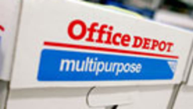 Take Profits in Office Depot's Stock Ahead of 4Q Earnings Report
