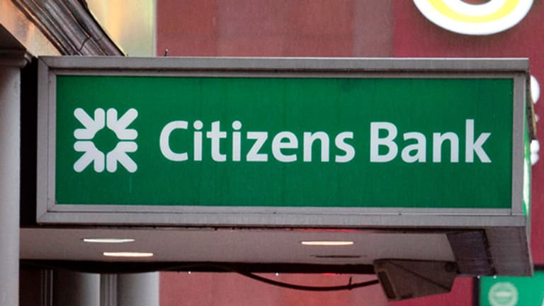 Don't Bank on Citizens Financial Group Going Higher Here