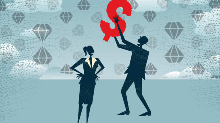 The Diamond Ceiling: Women CEOs Aren't Hauling in Gaudy Pay Packages Like Male Peers