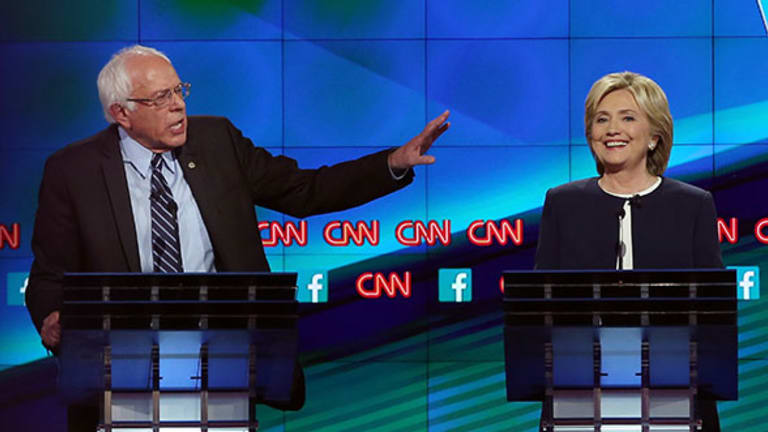 What Hillary Clinton and Bernie Sanders are Up to During the #GOPDebate