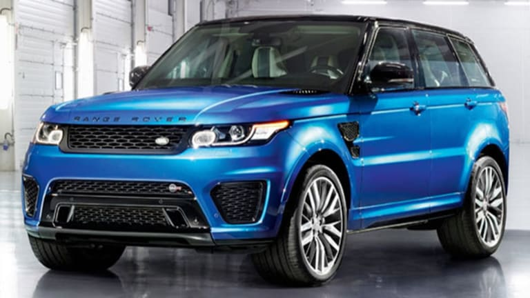 The New Hot SUV in Hollywood: Range Rover Sport