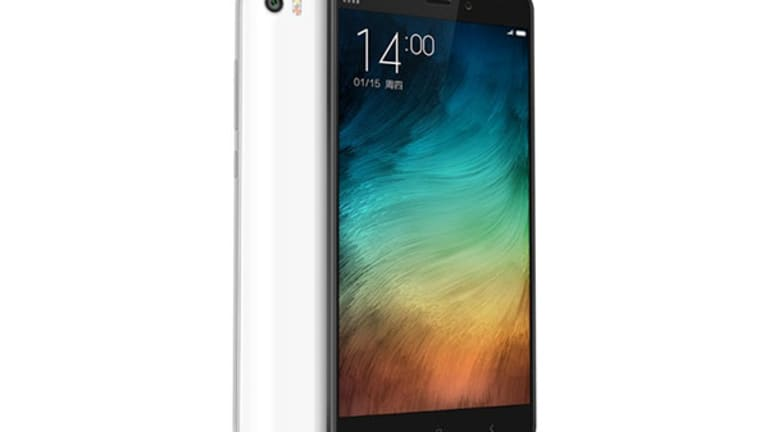 Xiaomi Takes On Apple's iPhone 6 Plus With New Mi Note Phablet