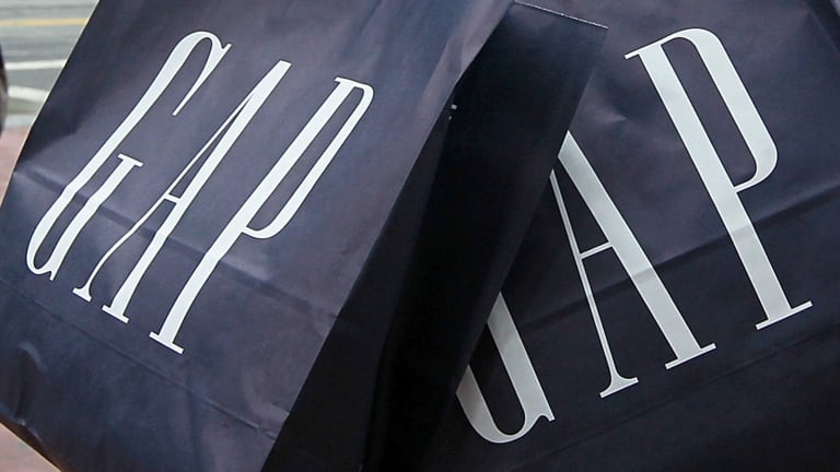 J.C. Penney shines in struggling retail industry as Gap falls