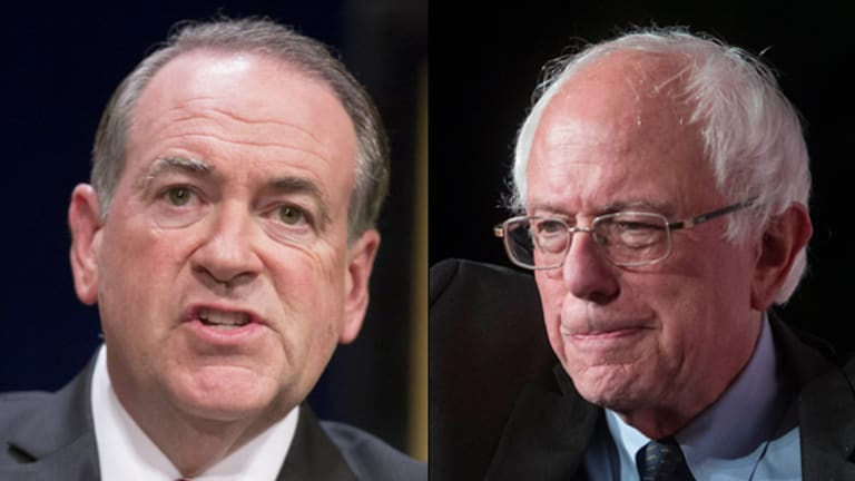 One Issue Mike Huckabee and Bernie Sanders Can Agree on: Break Up the Big Banks