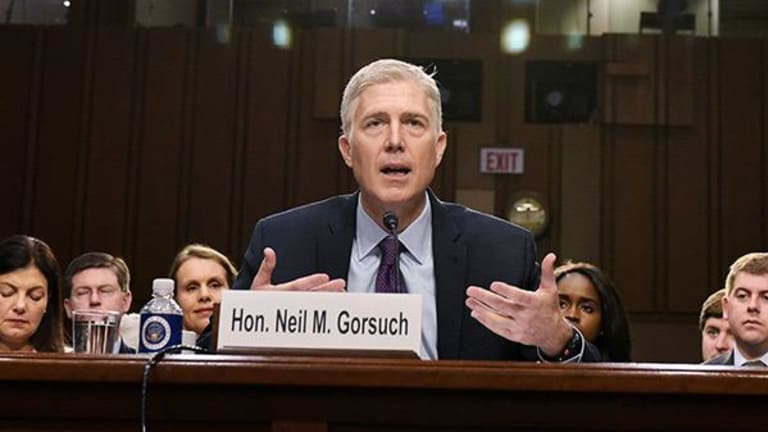 Gorsuch Toes Line on Hobby Lobby, Chevron Doctrine at Supreme Court Hearing