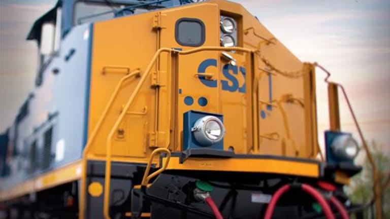 CSX Shares Soar on Earnings, Raised Dividend and Buyback -- Jim Cramer Weighs In