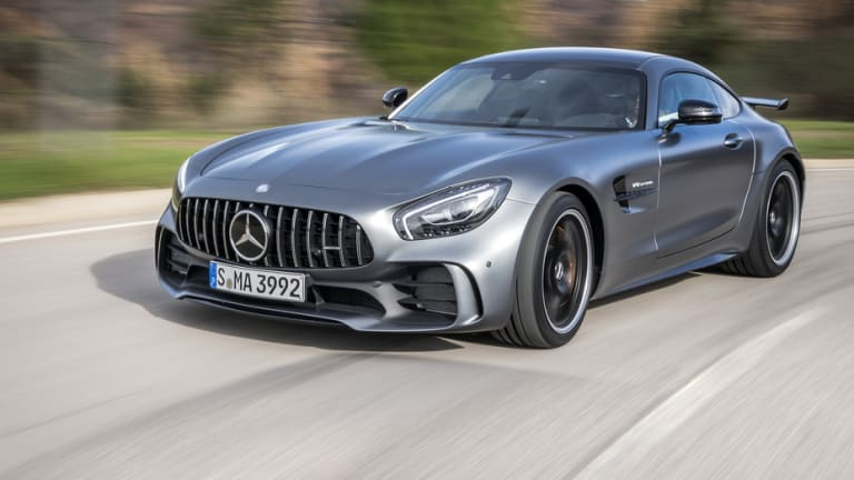 This Is What a 2018 Special Edition Mercedes Sports Car That Sells for $157,000 Looks Like