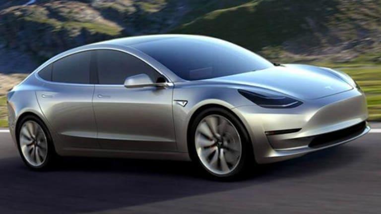 Tesla CEO Musk Tweets Video of Model 3