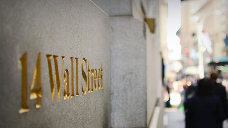 Financials Drag Wall Street Lower Putting Dow's Record Streak in Jeopardy