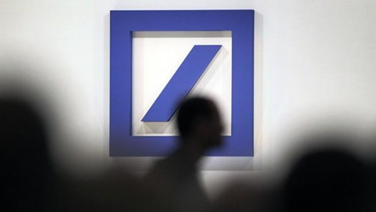 Deutsche Bank Tops German Market as Financials Drive European Gains
