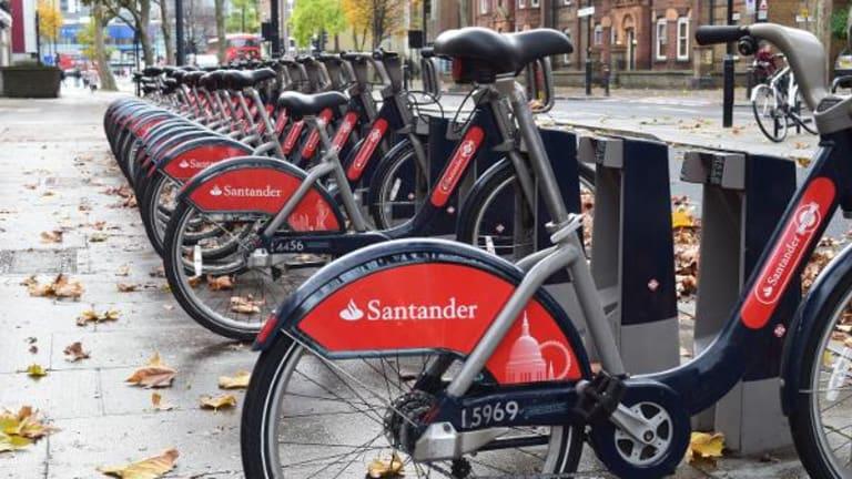 Banco Santander Soars After Taking Over Failing Spanish Rival