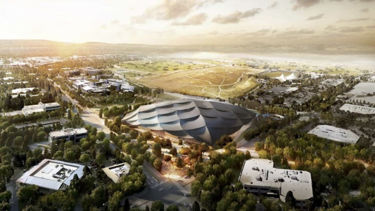 Everything We Know About Google's New Futuristic HQ in Silicon Valley