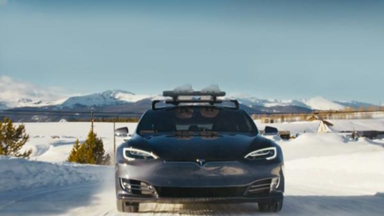 Tesla Is the Appealing Alternative as Big 3 Sales Lag