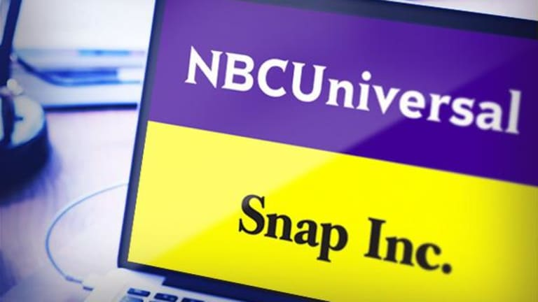 Snap Inks Deal With NBCUniversal for 2018 Winter Olympics