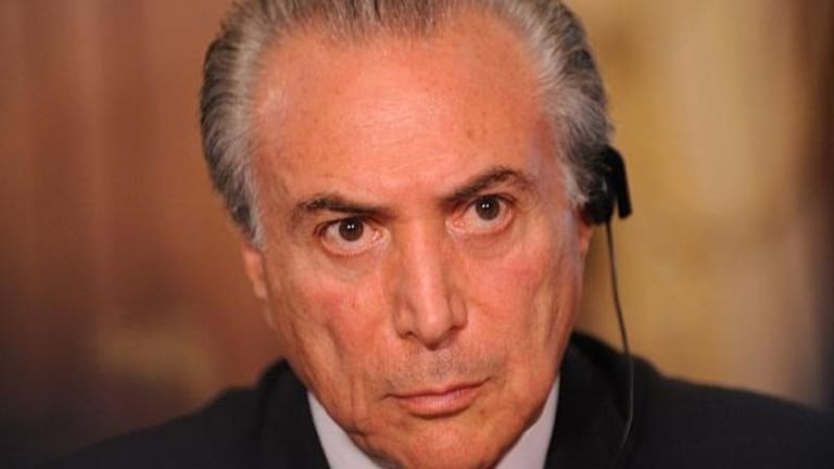 Brazil's President Michel Temer Clings to Power; Emerging Market Stocks Struggle