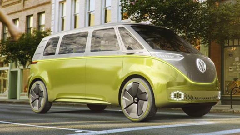 Forget Tesla Dude! Check Out Volkswagen's Electric Hippie Bus That Will Hit Streets