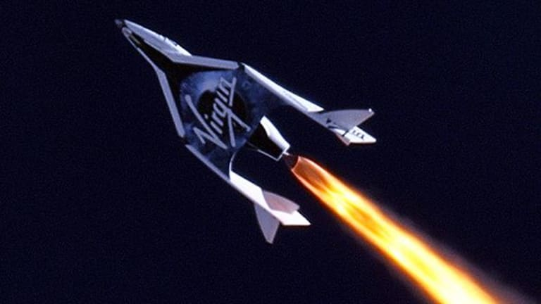 Virgin Galactic Lifts Off as Morgan Stanley Launches Coverage on Bullish Note