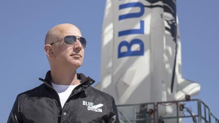 Watch Blue Origin's New Shepard Launch With Jeff Bezos Live