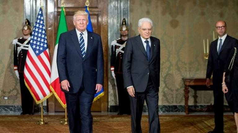 Trump Arrives For G-7 Summit In Italy After Rebuking European Allies on Trade and Defense