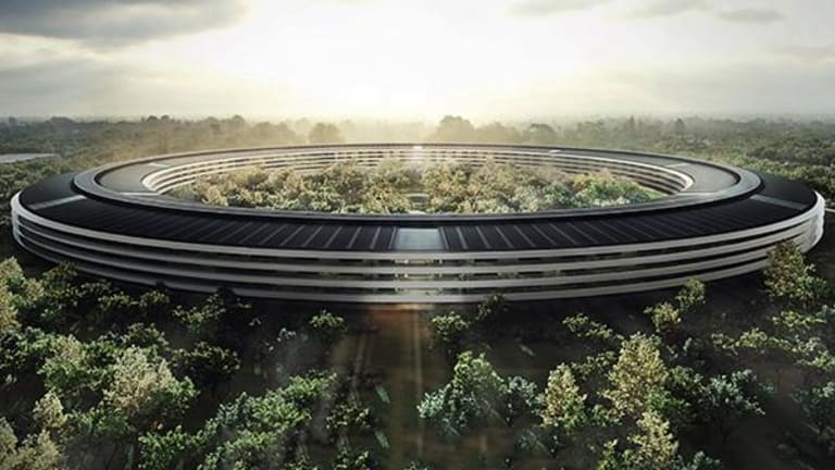 Apple Finally Set to Unveil Stunning New 'Spaceship' Campus Tuesday