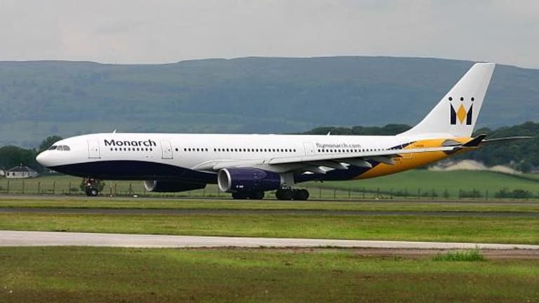 U.K. Airlines Stock Surge on Monarch Bankruptcy
